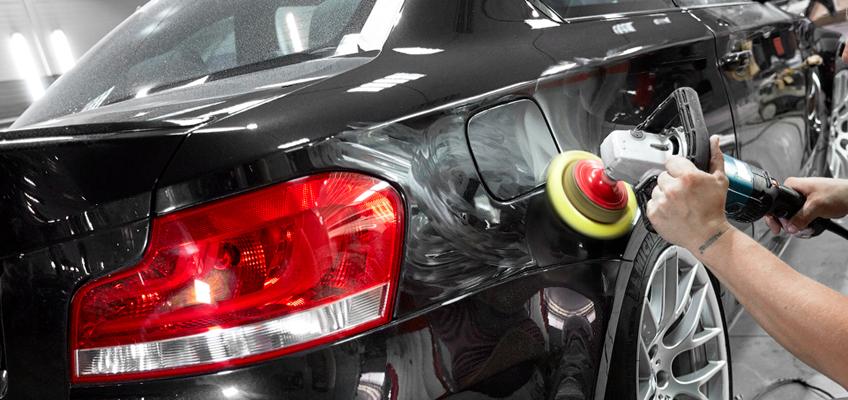 Этапы покраски автомобиля